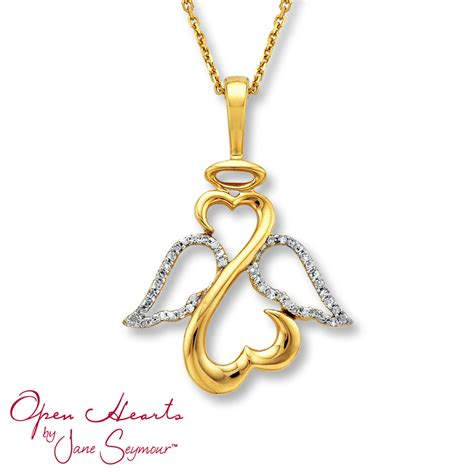 Jane Seymour Angel Wing Necklace