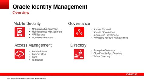 tutorial oracle identity manager overview of oracle identity management customer presentation