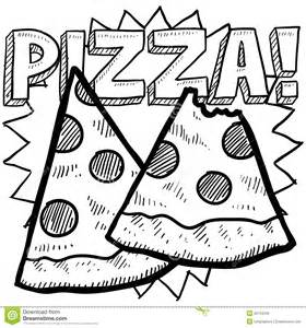 pizza slice sketch royalty free stock image image 28194326
