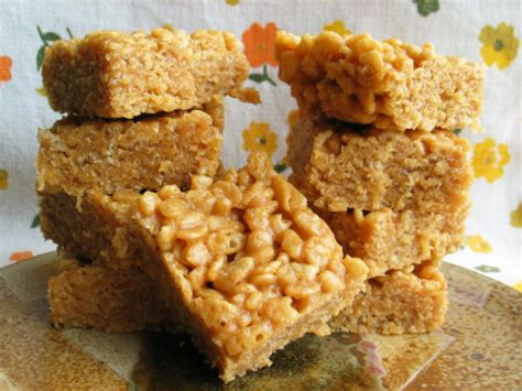 peanut butter treat recipes peanut butter rice crispy treats recipe food