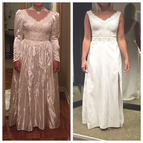 Brautkleider 80er by Totally Transforms S 80s Wedding Gown