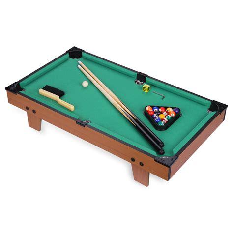 Biliard Table Toys mini billiard snooker tabletop pool table top desktop