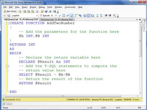 construct 2 function tutorial how to create function in sql server