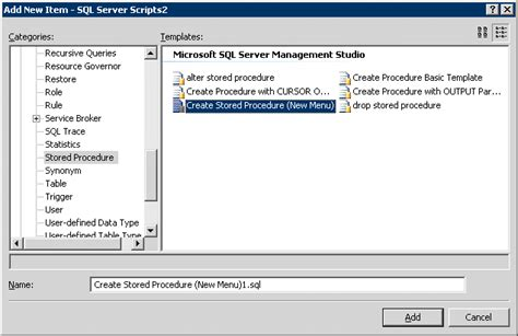 sql server stored procedure template source for stored procedure in sql server 2008