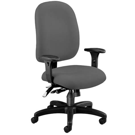 Ergonomic Features Of A Chair by Ofm Ergonomic Chair W Arms 125 Office Task Chairs Worthington Direct