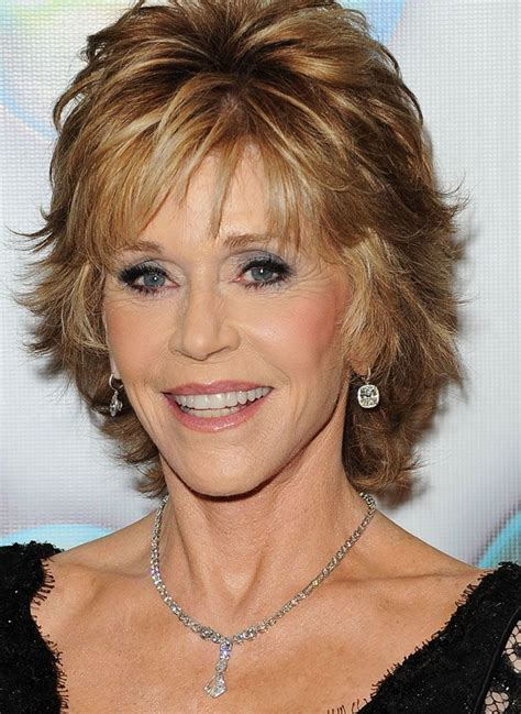 jane fonda choppy upturn lighter hairstyles best of 2012 most stylish celebrities in jewels golden