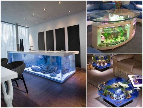 kitchen design aquarium 10 awe inspiring ideas to decorate your home with aquariums