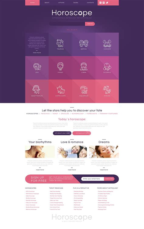 bid websites astrology responsive website template 52965