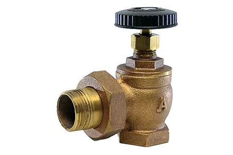 Mass Plumbing Approval by 9d Bronze Steam Radiator Angle Valve