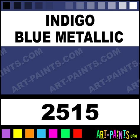 indigo blue metallic acrylic enamel paints 2515 indigo