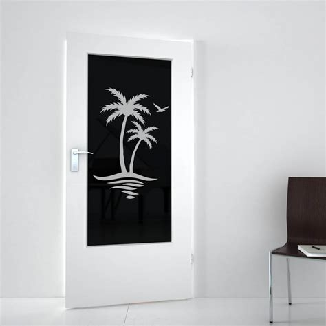 erkelenz duschen lichtausschnitt lackiert mit motiv palmen erkelenz 989708358