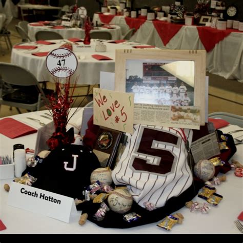 sports themed table decorations baseball banquet table sports theme graduation