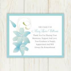 sympathy thank you card printable by eloycedesigns on etsy