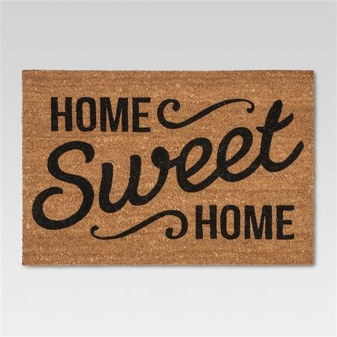 home sweet home household clearance doormat home sweet home estate 23 quot x35 quot threshold target