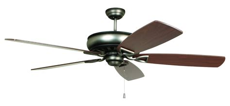 craftmade ceiling fan blades craftmade ceiling fan with blades included nickel