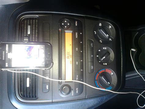 Standard One Car Garage Size technical aux socket mod the fiat forum