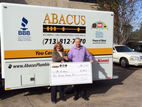 Abacus Plumbing by Successful Contest By Abacus Plumbing Supports