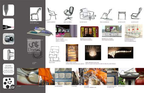 house design website online graduate portfolio by joanne abessinio scrap paper