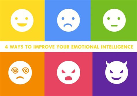 Improve Your Emotional Intelligence 4 simple ways to improve emotional intelligence