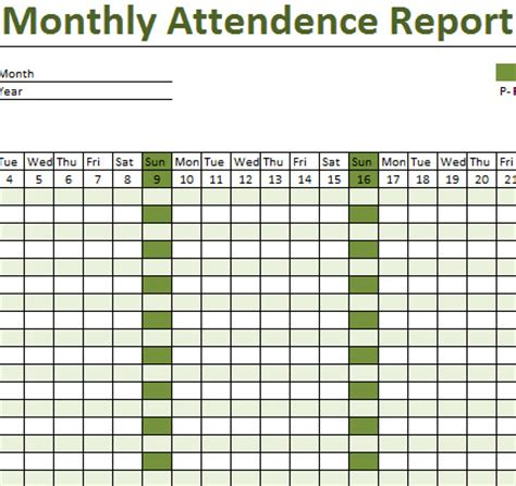 monthly class attendance template how to create attendance sheet in excel 2007 monthly