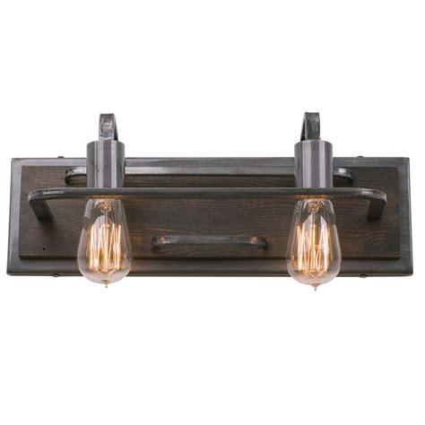 varaluz lofty 4 light varaluz lofty 2 light steel vanity light 268b02sl the