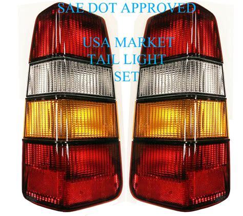 volvo   wagon tail light set    left     ebay
