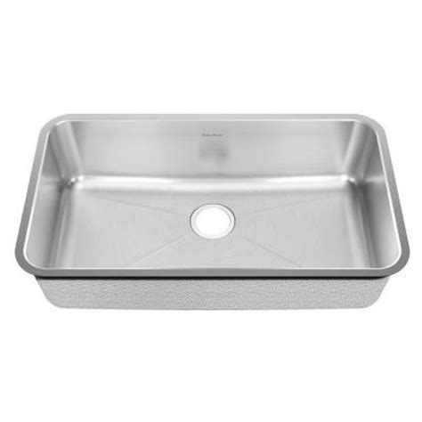 american standard undermount kitchen sink american standard prevoir undermount brushed 33 in single