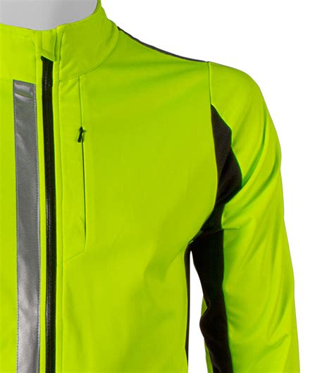 reflective cycling jacket 3m scotchlite reflective 360 high visibility full zip