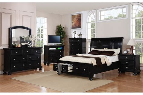 Black Queen Bedroom Set | bedroom sets peter black queen bedroom set