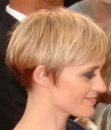 short pixie hair style with wedge in back short pixie haircuts front and back views short