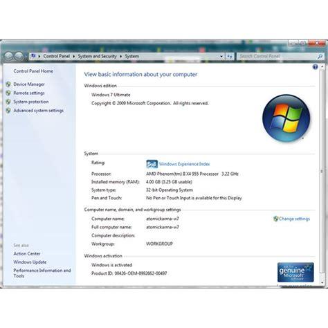 Ram Windows 7 windows 7 msconfig maximum memory settings
