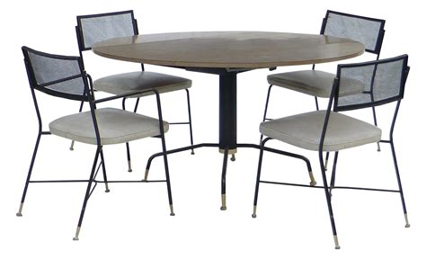 5 piece troy sunshade company dining set chairish