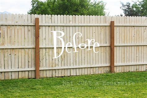 backyard fence paint colors creative ideas for garden fence design diy magazine8