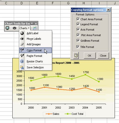 chart tools 25 chart tools for excel discount promotion coupon code