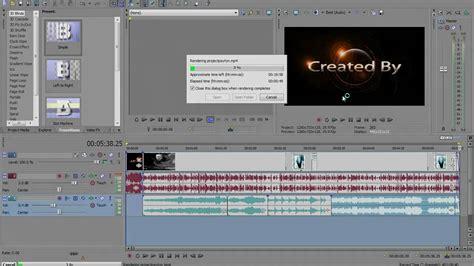 format video sony vegas sony vegas pro 10 rendering hd videos for youtube or