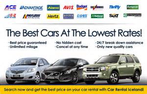 Car Rental Downtown Iceland Car Rental Iceland Car Hire In Reykjavik
