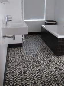 Black Bathroom Floor Tiles 40 Black And White Bathroom Floor Tile Ideas And Pictures