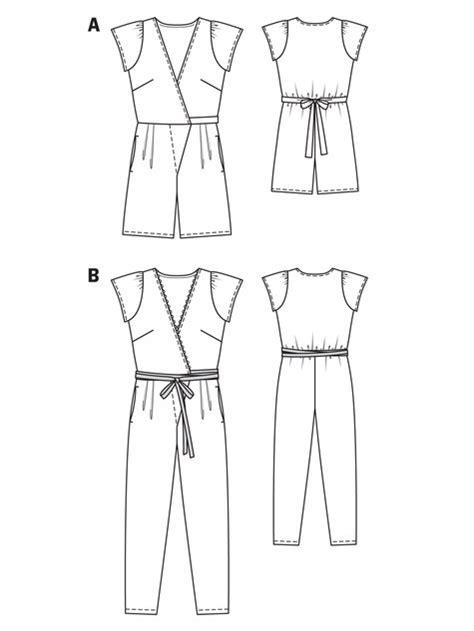 jumpsuit pattern free downloadable short jumpsuit 05 2013 129a sewing patterns