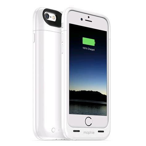 Iphone Air mophie juice pack air for iphone 6 2750mah white