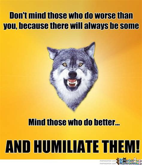Meme Generator Wolf - courage wolf meme pictures to pin on pinterest pinsdaddy
