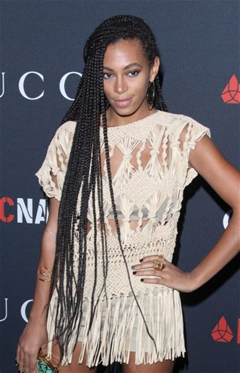 solange knowles braid hairstyles braided hairstyles solange knowles long braided hairstyle