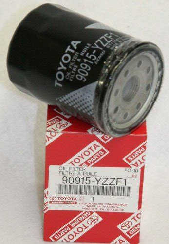 awardpedia toyota genuine parts 90915 yzzf1 filter
