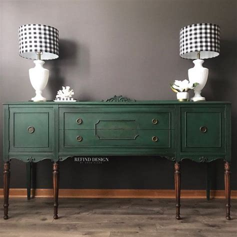 sold victorian buffet green modern sideboard traditional