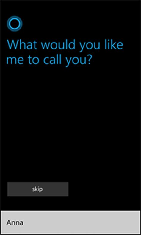 cortana can you style my hair for me cortana you can use my name