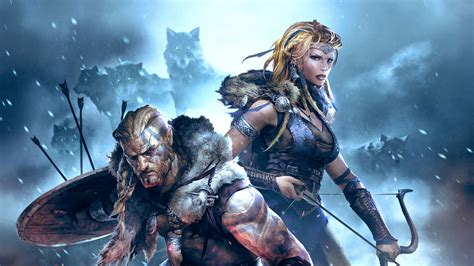 Warriors Key Of Midgard vikings wolves of midgard review gaming respawn