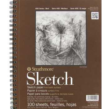 hobby lobby sketchbook 9 quot x 12 quot strathmore 400 series spiral sketch pad hobby