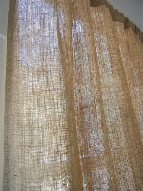 jute curtain panels burlap curtain discontinued sale 78 wide x any length