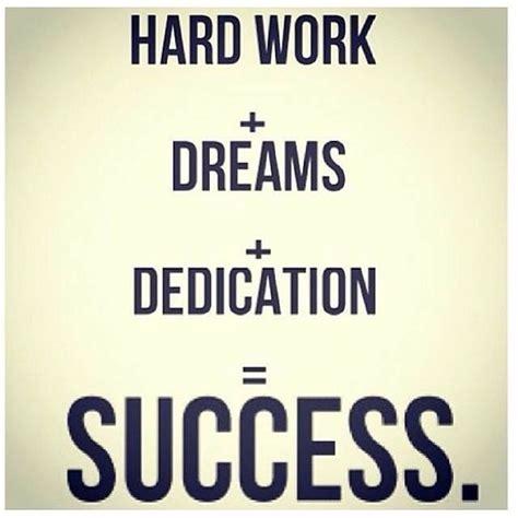formula   hard work  dreams  dedication equals success addictedsuccess