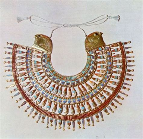 egyptian collar with hawks shiny bits pinterest