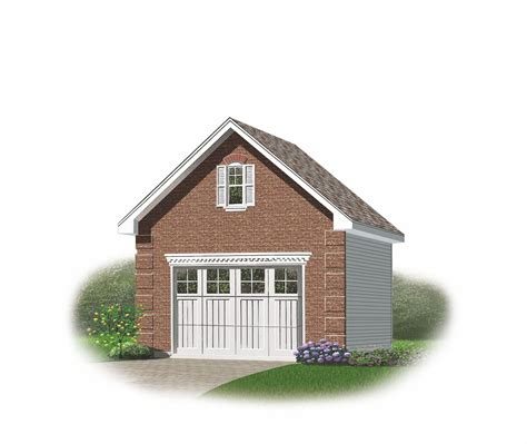 Single Car Garage Plans Free by Free One Car Garage Plans 171 Floor Plans